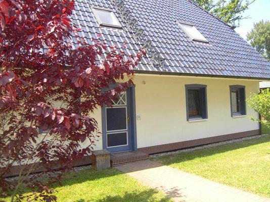 Prerow | Ferienwohnung Buchentraum 1/4 - Blick auf das Haus