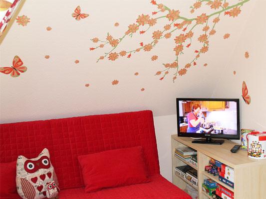 Prerow | Ferienwohnung Buchentraum 1/4 - Schlafzimmer 1 mit Spieleecke