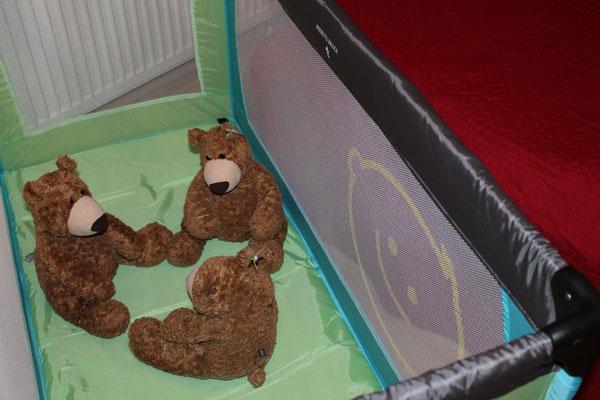 Prerow | Ferienwohnung Buchentraum 1/4 - Kinderreisebett