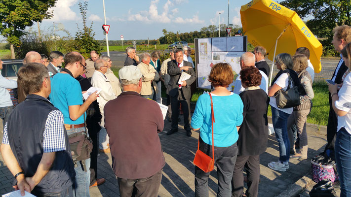 Ortsbegehung in Bonn-Buschdorf am 27.09.2017
