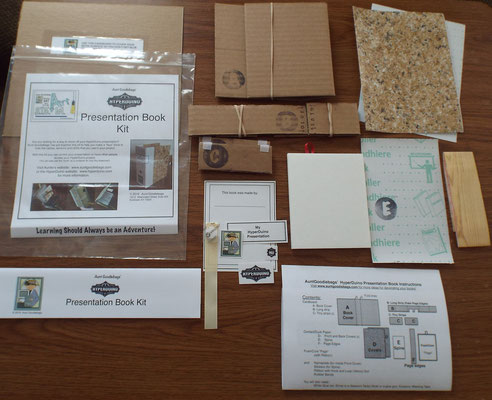 hyperduino presentation book kit aunt goodiebags