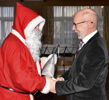 Weihnachtsgruß an Michael Hartinger