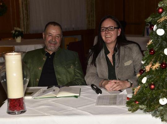 Fritz Reiterer und Birgit Pretterhofer