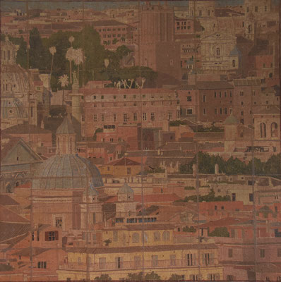Rome from my window 100x100