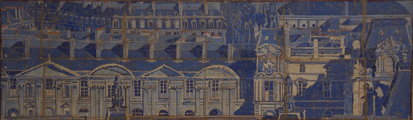 Le Grand Louvre 100X30