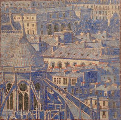Paris Bleu - notre dame de Paris