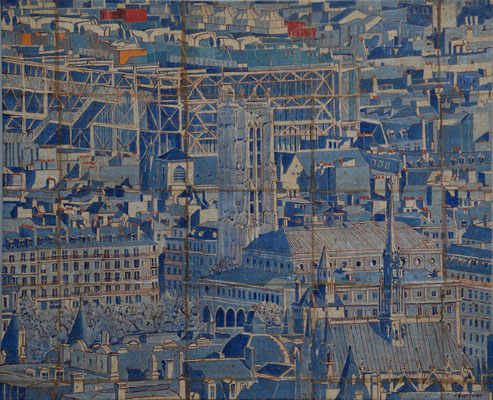 Paris Beaubourg - 73X60