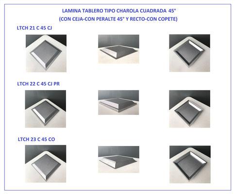 LÁMINA TABLERO TIPO CHAROLA PARA PUERTA 2