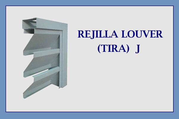 REJILLA LOUVER J (TIRA) PARA ENSAMBLE