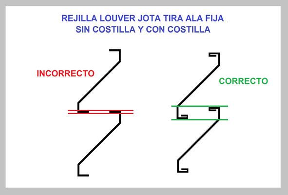 REJILLA LOUVER TIRA J (JOTA) GUÍA DE INSTALACIÓN 1