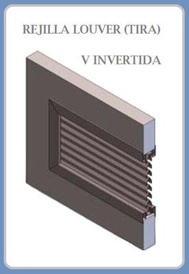 REJILLA LOUVER (TIRA) V INVERTIDA