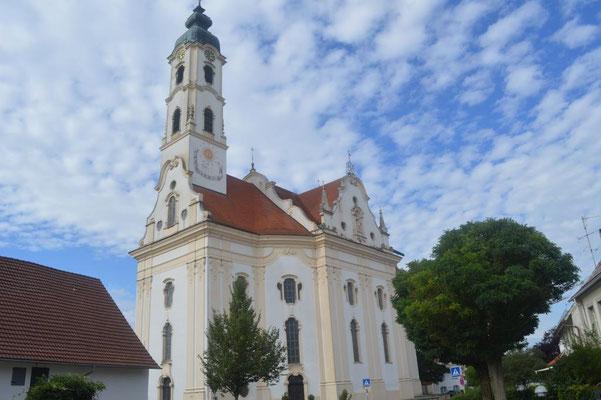 Wallfahrtskirche Steinhausen außen