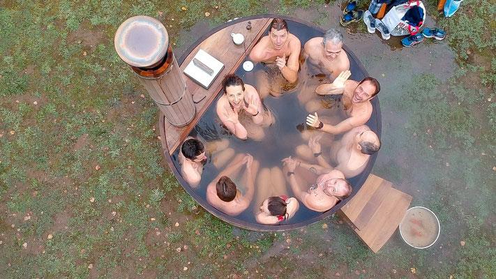 Bain froid - WIM HOF