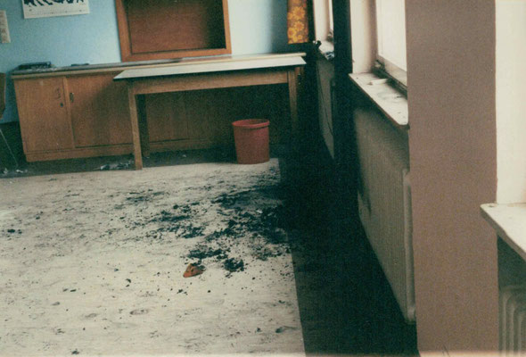 1991 Clubhausbrand