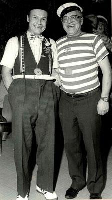 1986 Ramba Zamba - Kurt Bender, Seppel Wäsch (von li.)