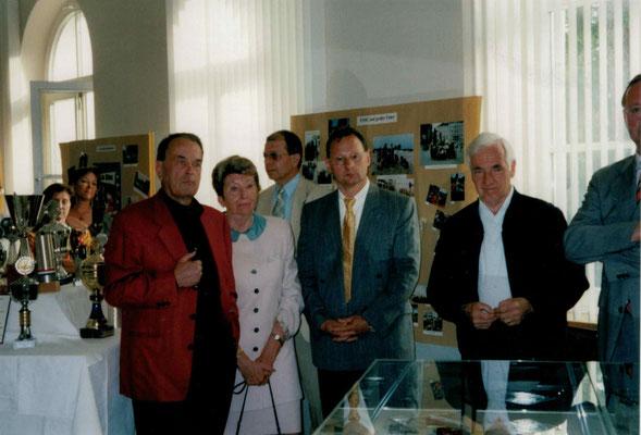2003 Fotoausstellung - Alfons + Dorita Stücker, Guido Küpper, Günter Selzer, Eberhard Kampfenkel (von li.)