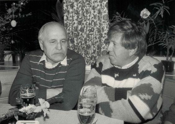 1986 Seppel Wäsch, Karl Heinz Butzbach (von li.)