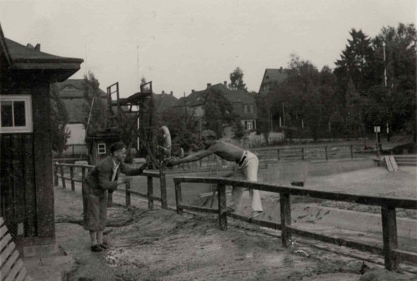 1927 Freibadbau