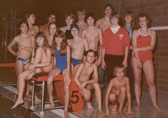 1981 Kreismeister Schwimmen