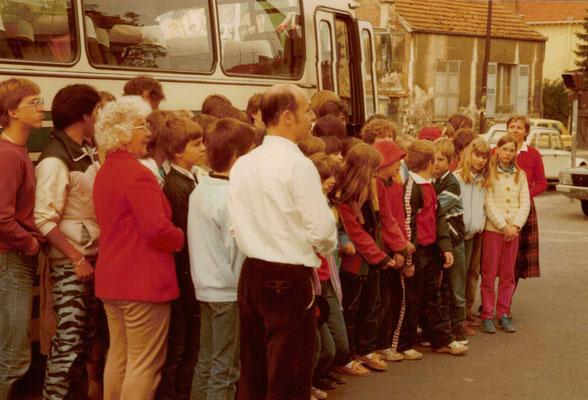 1983 Fahrt nach Rueil Malmaison