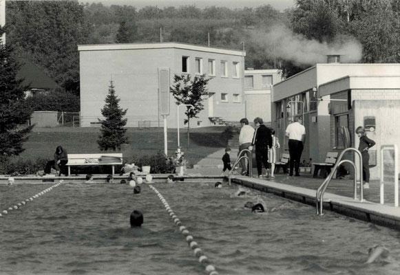 1972 Freibad und ESSC-Clubhaus
