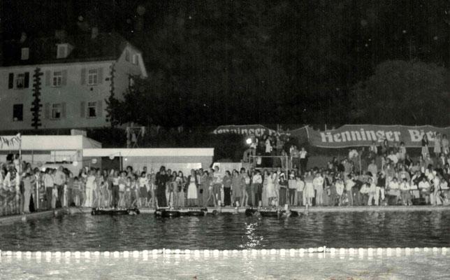 1972 Abendschwimmfest