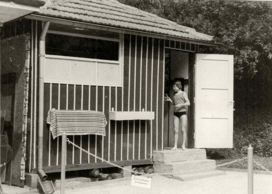 1956 Damen-Umkleidehütte