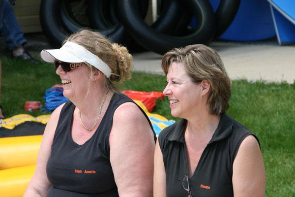 2010 24-Std-Schwimmen - Annette Gäßler, Renate Kubicek