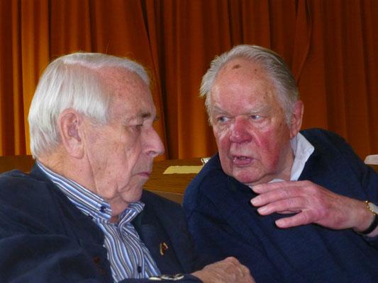 2014 Frühschoppen - Fritz Fuchs, Gerhard Schneider (von li.)