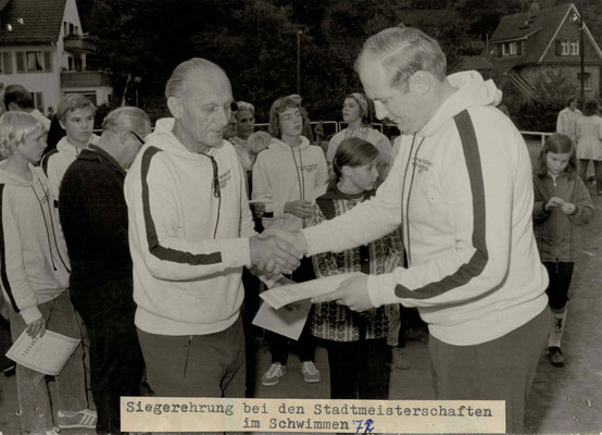 1972 Stadtmeisterschaften - Hermann Bockenheimer, Eugen Zahn