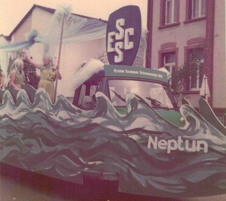 1975 Festumzug TG Jubiläum