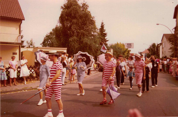 1983 Festumzug 25 Jahre TG Spielmannszug