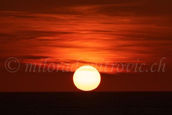 Cap Fréhel, Sonnenuntergang