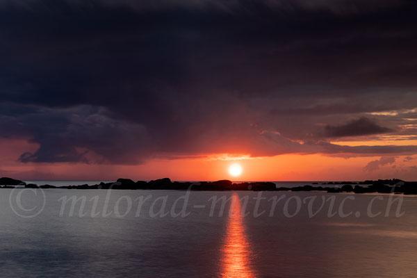 Pontusval, Sonnenaufgang