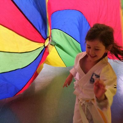 Karate mit Freude für Kinder Volksschule