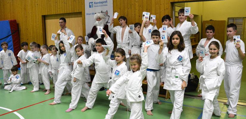 Karateprofi Kinderkurs für Volksschüler und Mittelschüler