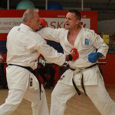 Kampfsport zum Jungbleiben