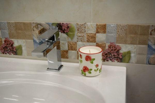 Vela perfumada referencia Vaso  decorado Rosal - Velas Aromalife