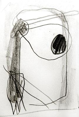 fassungslos, 2015, Bleistift auf Papier