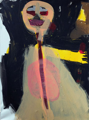 o.T., 2018, 60 x 80 cm, Acryl auf Leinwand