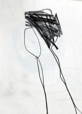 o.T, 2015, 7,5 x 10 cm, Bleistift auf Papier