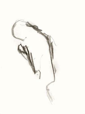 mutter, 2016, Bleistift auf Papier