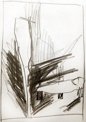 notaufnahme, 1994, Bleistift auf Papier
