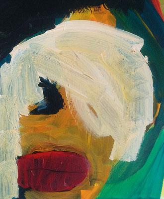 David Bouiieh, 2017, 30 x 40 cm, Acryl auf Leinwand