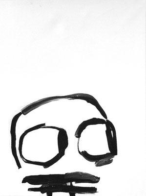 Glotz, Acryl auf Leinwand, 60 x 80 cm, 2018