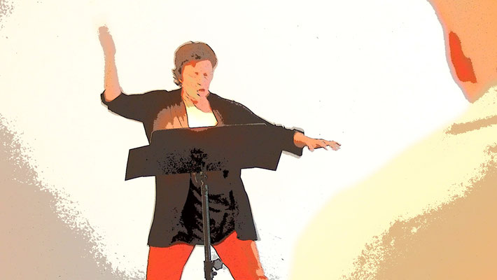 Dörte Bald performing STRIPSODY (1966) from Cathy Berberian