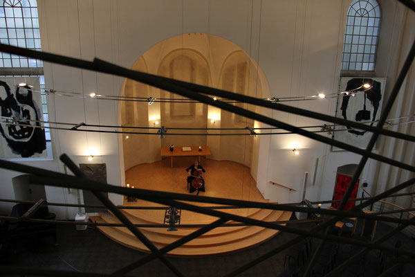 Konzert 14.4.2018 INSOUND, Solistin: SUsanne Müller-Hornbach, Cello