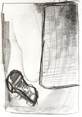 o.T., 1994, Bleistift auf Papier