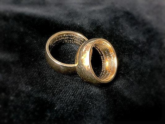 4 Zeiler mit 180 Zeichen pro Ring