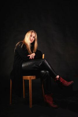 Annemieke, grafisch ontwerpster